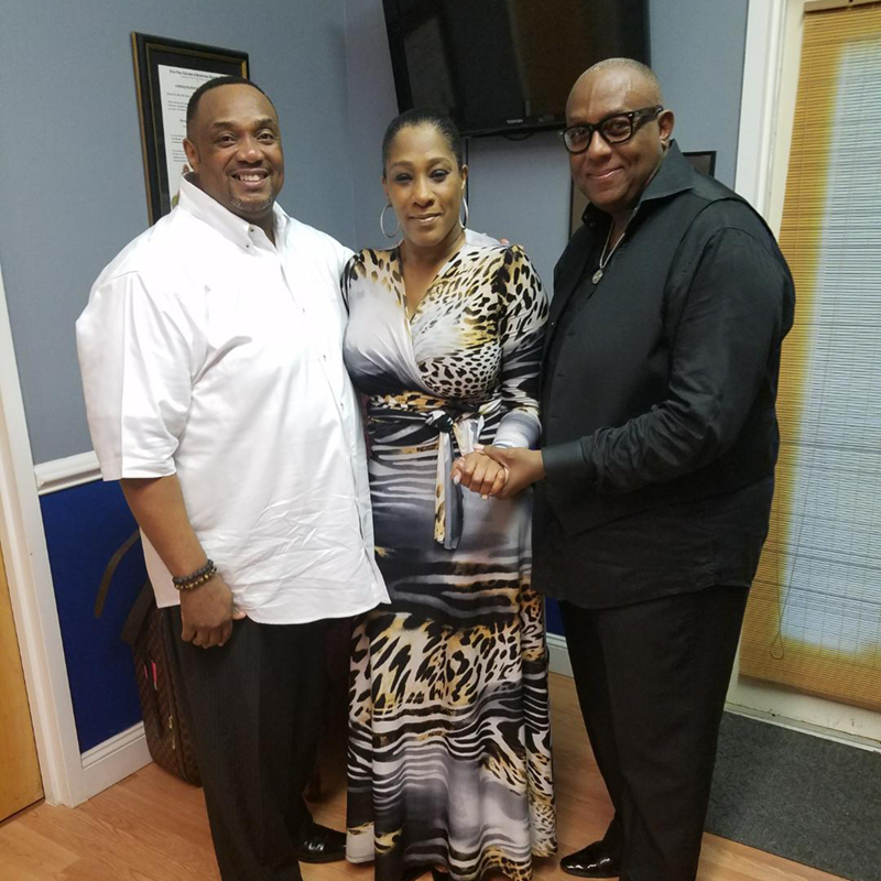 Bishop Young, Evangelist Monique Walker, and Dr. Ron Bigelow